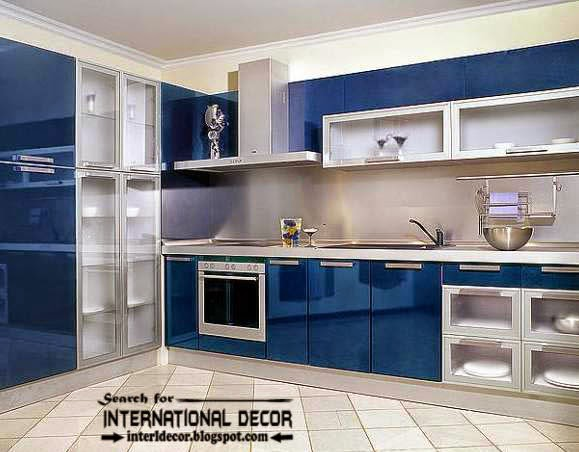How to make beautiful kitchen renovation, blue kitchen cabinets