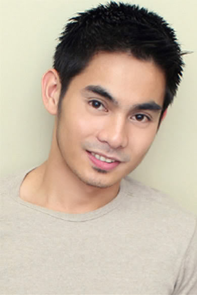 Filipino male model and