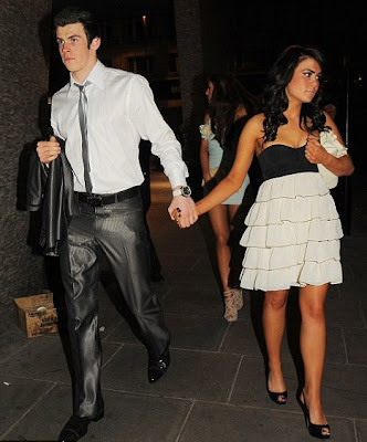 Gareth+Bale+With+Girlfriend