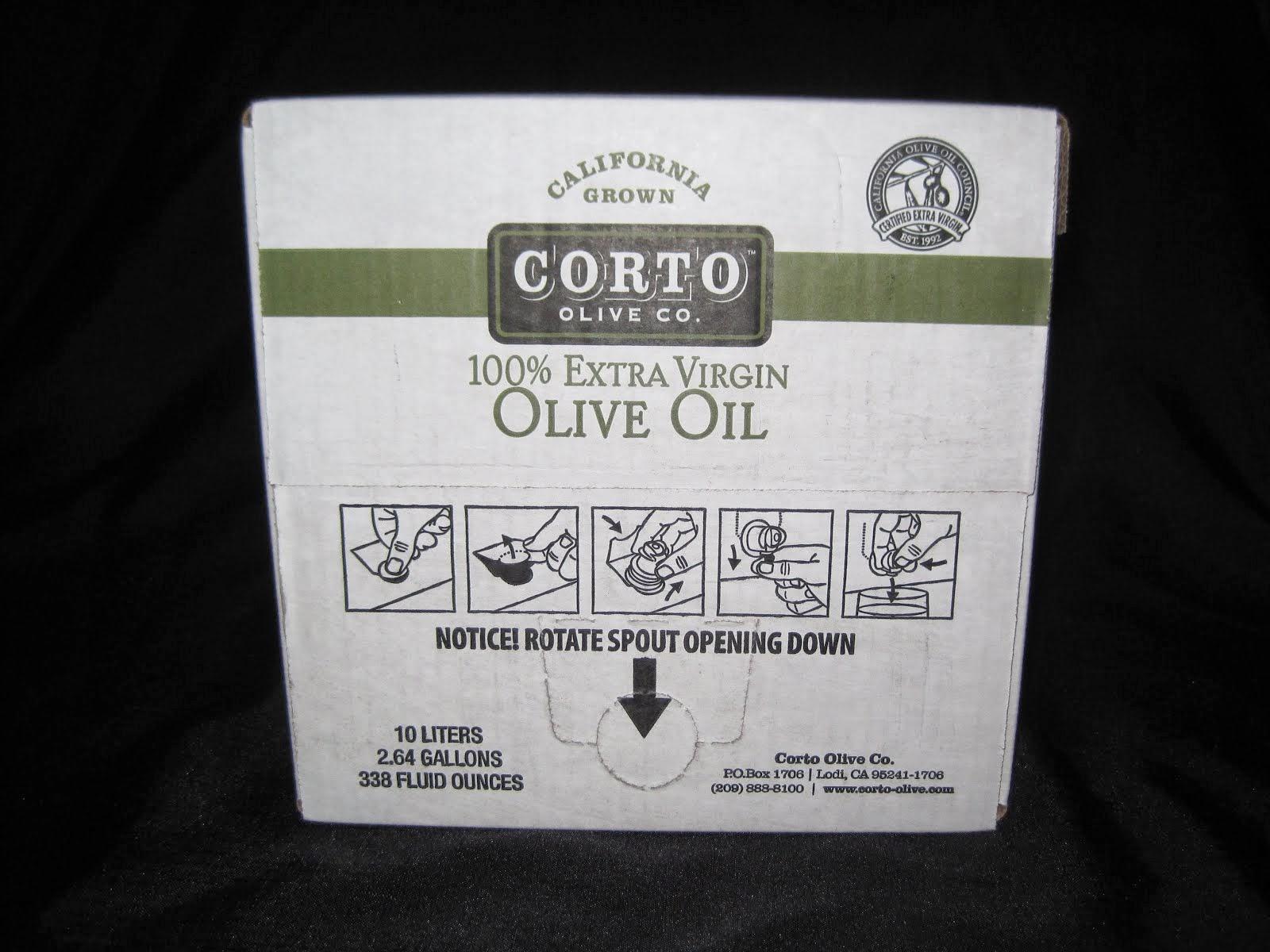 Extra Virgin Olive Oil - Bag in box - Stays Fresh till the last drop - Item # 73660