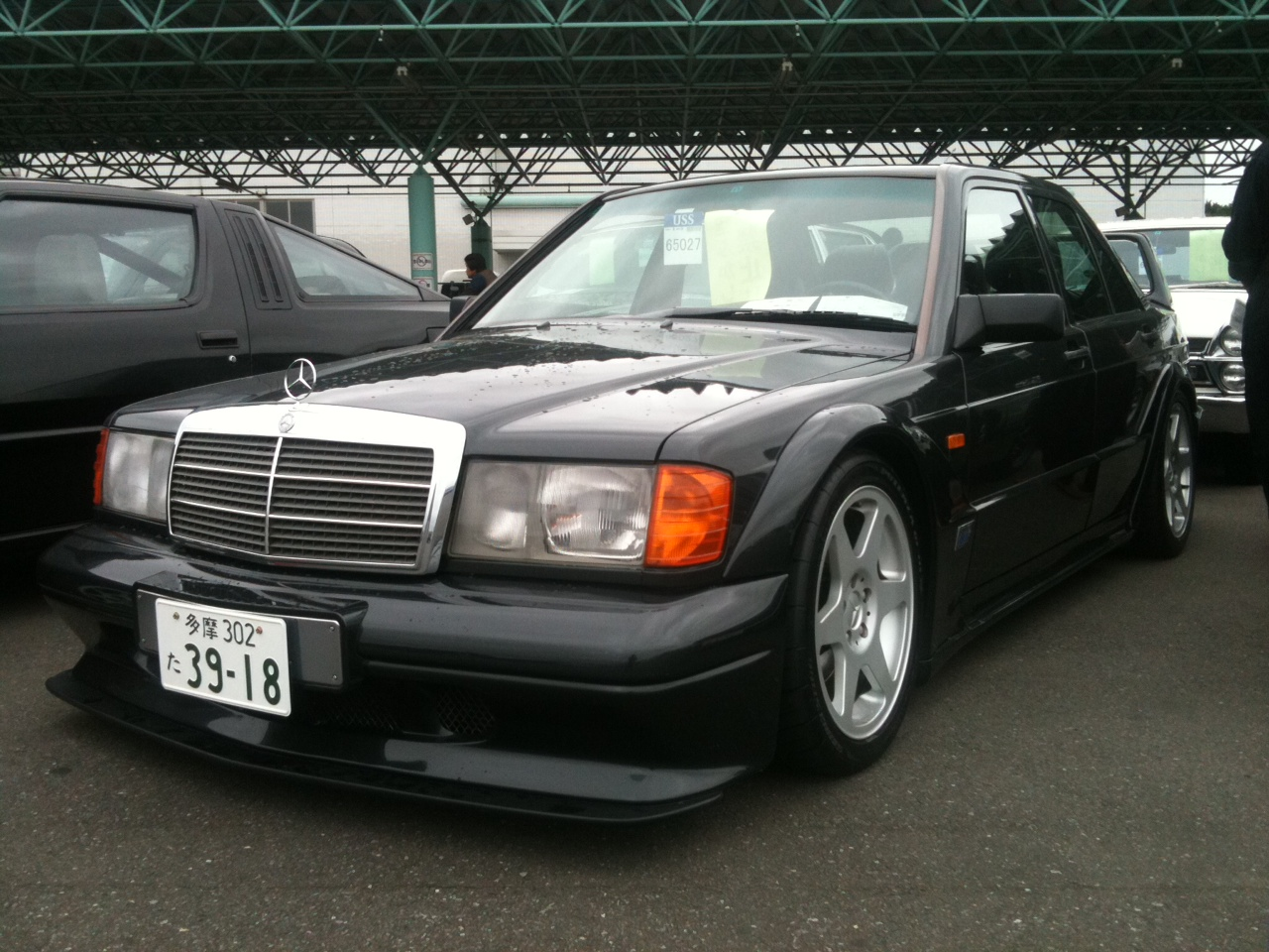 legendary cars mercedes benz 190e w201 2 5 16 evolution. Black Bedroom Furniture Sets. Home Design Ideas