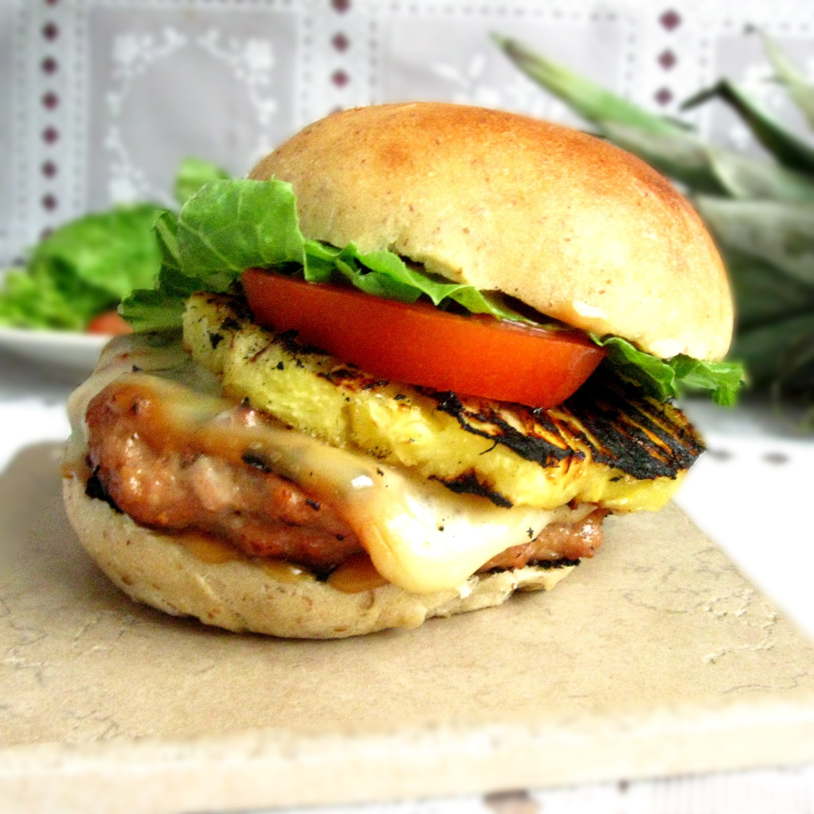 Balancing the Table: Hawaiian Chicken Burgers