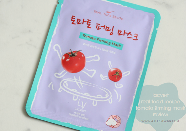Lacvert Real Food Recipe Tomato Firming Mask review