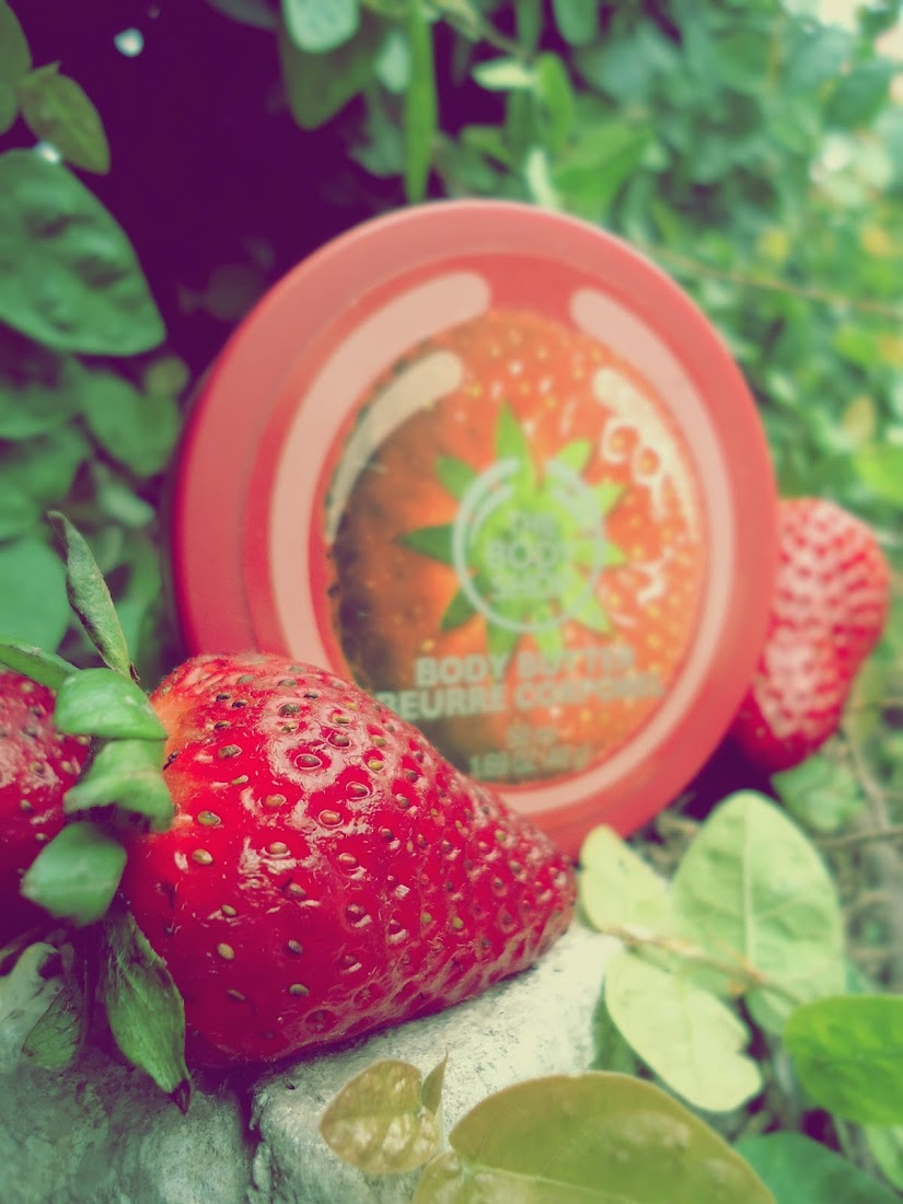Strawberry Body Butter by The Body Shop