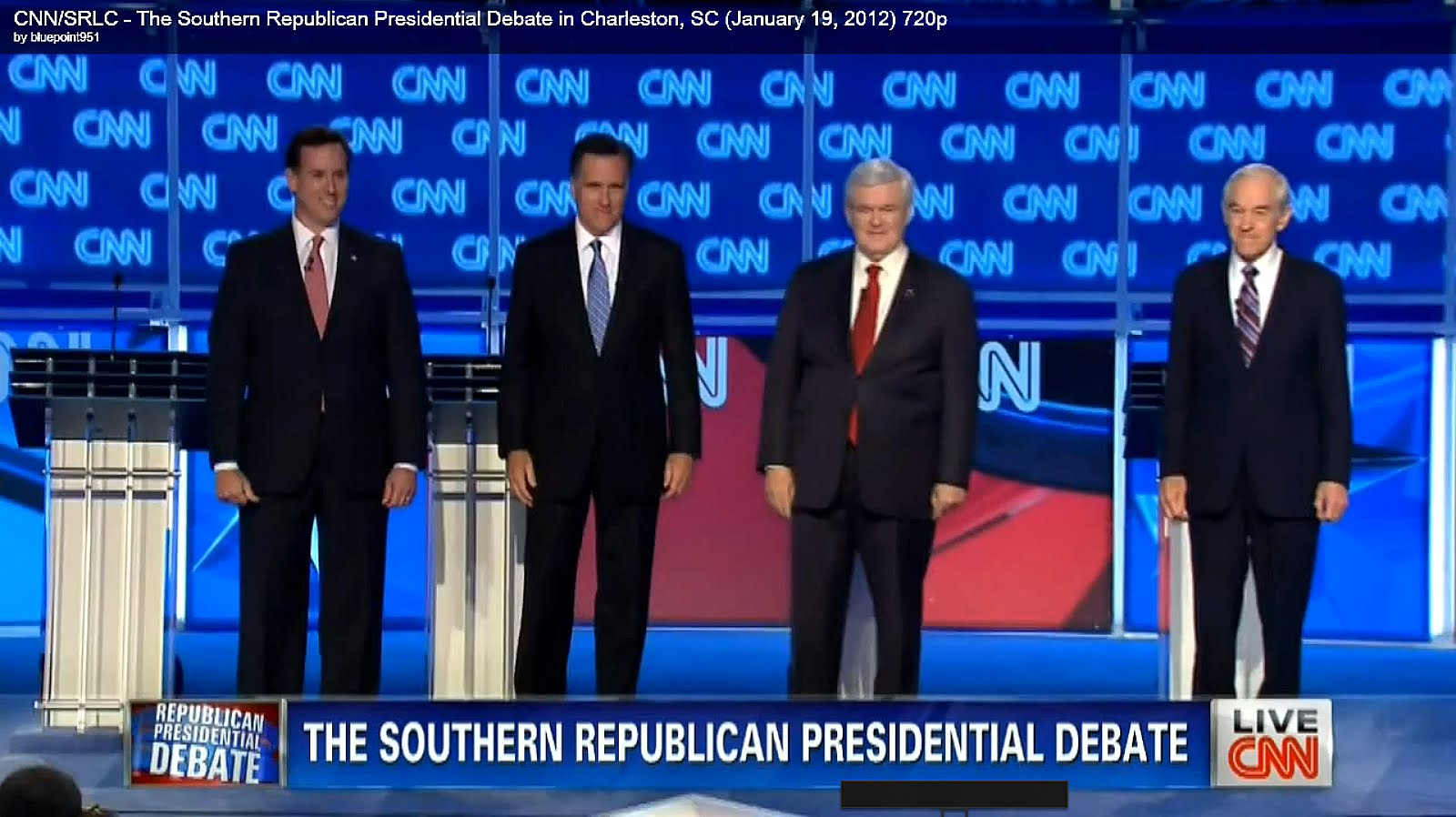 Republican Debate Nbc News Tampa Florida 01 23 12 Live Streaming Video