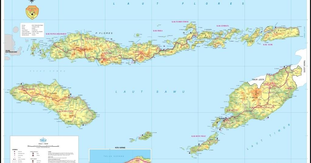 Geografis Kab Manggarai Ntt