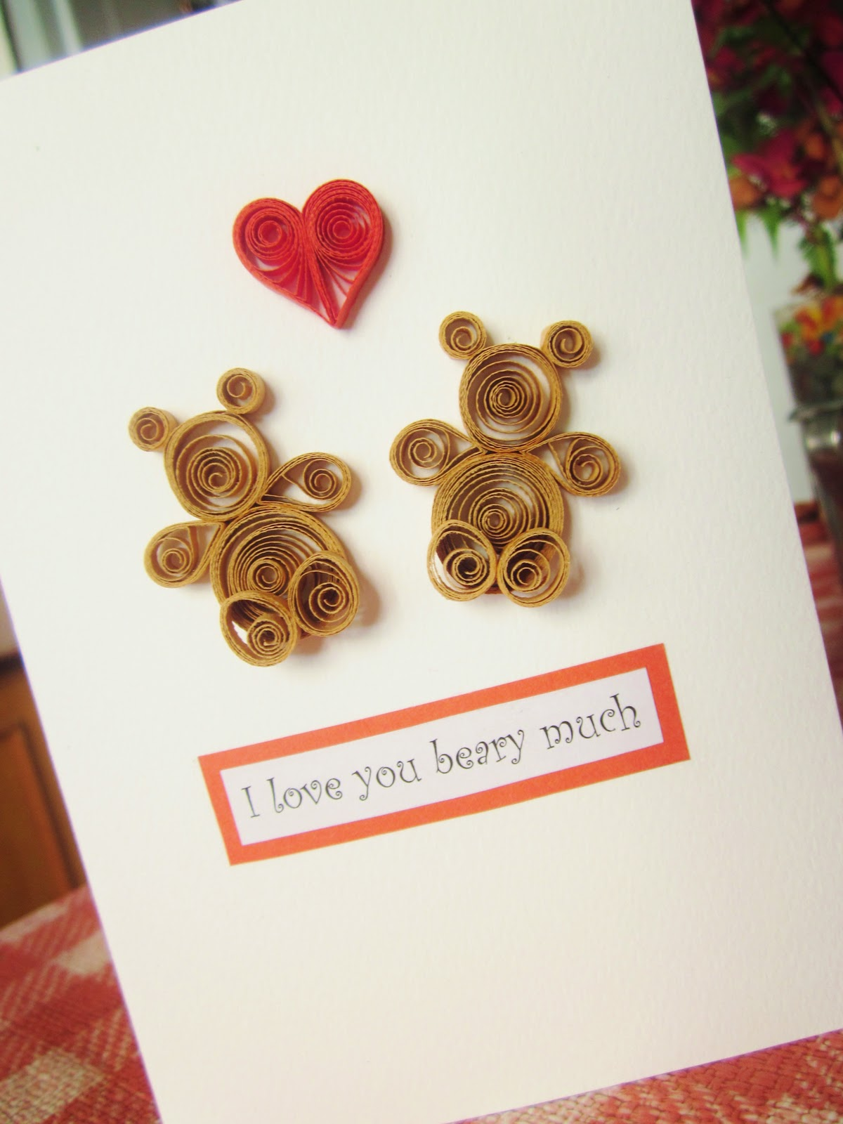 Yuenies Fancies Handmade Quilled Pop Up Cards Bookmarks Gifts
