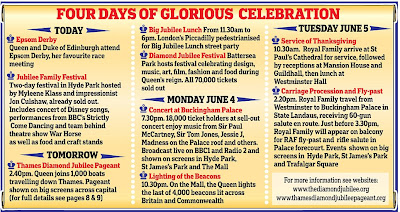Diamond Jubilee Celebrations Pictures weekend's events