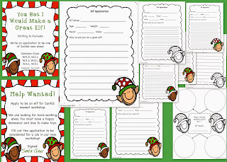 http://www.teacherspayteachers.com/Product/You-Bet-I-Would-Make-a-Good-Elf-Writing-to-Persuade-Holiday-Fun-994023