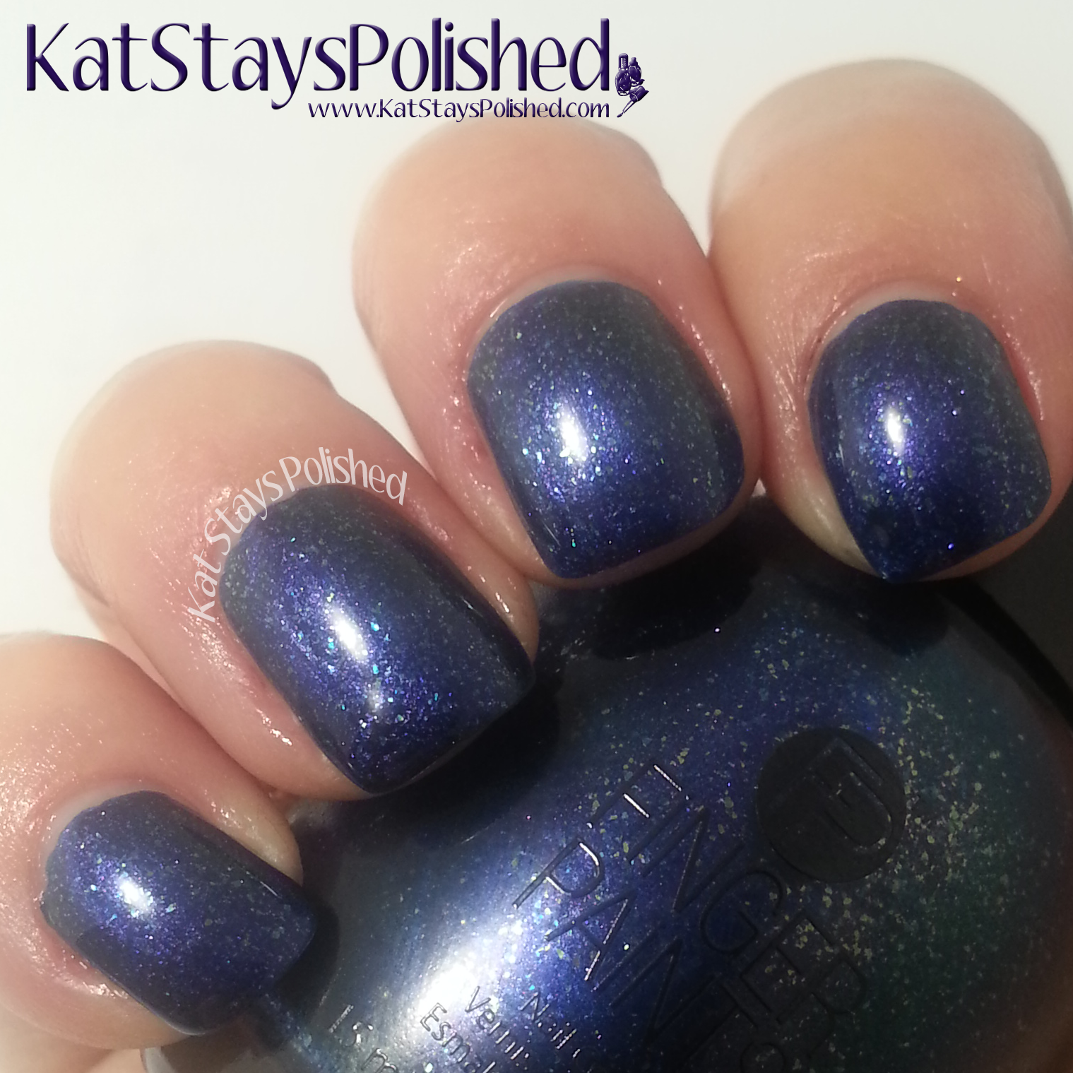FingerPaints Masquerade Affair - Queen for a Night | Kat Stays Polished