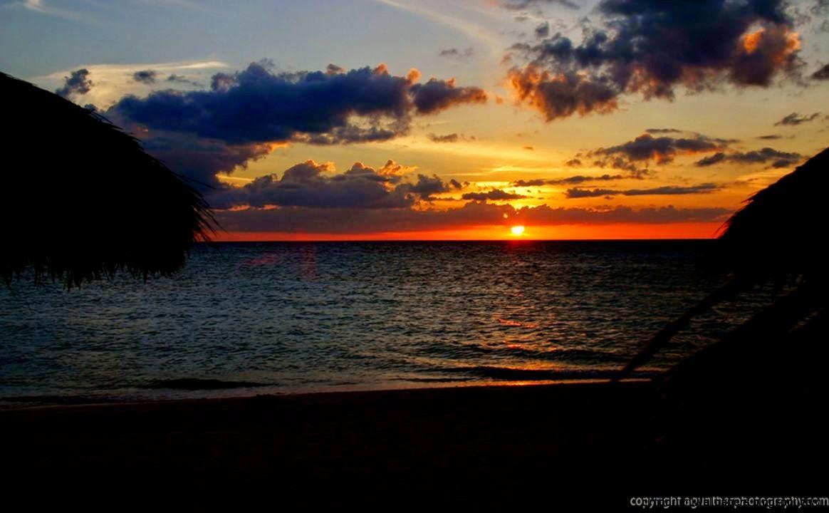Beach Sunset Wallpaper Widescreen Free Desktop 8 HD ...