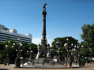 Monumento ao Dois de Julho na Praça do Campo Grande, Salvador