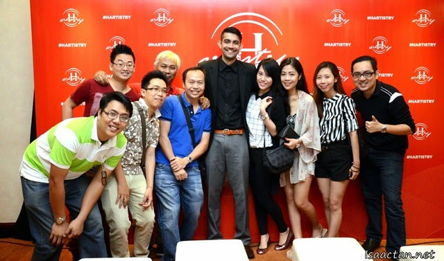 A group shot with the really cool friends and bloggers from Penang