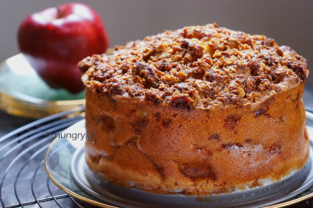 Autumn Apple Cake with Stroopwafel