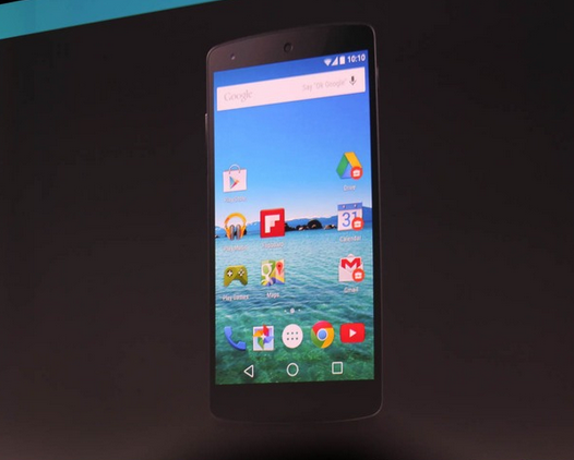 Google Android L Developer Nexus 5 Screenshots