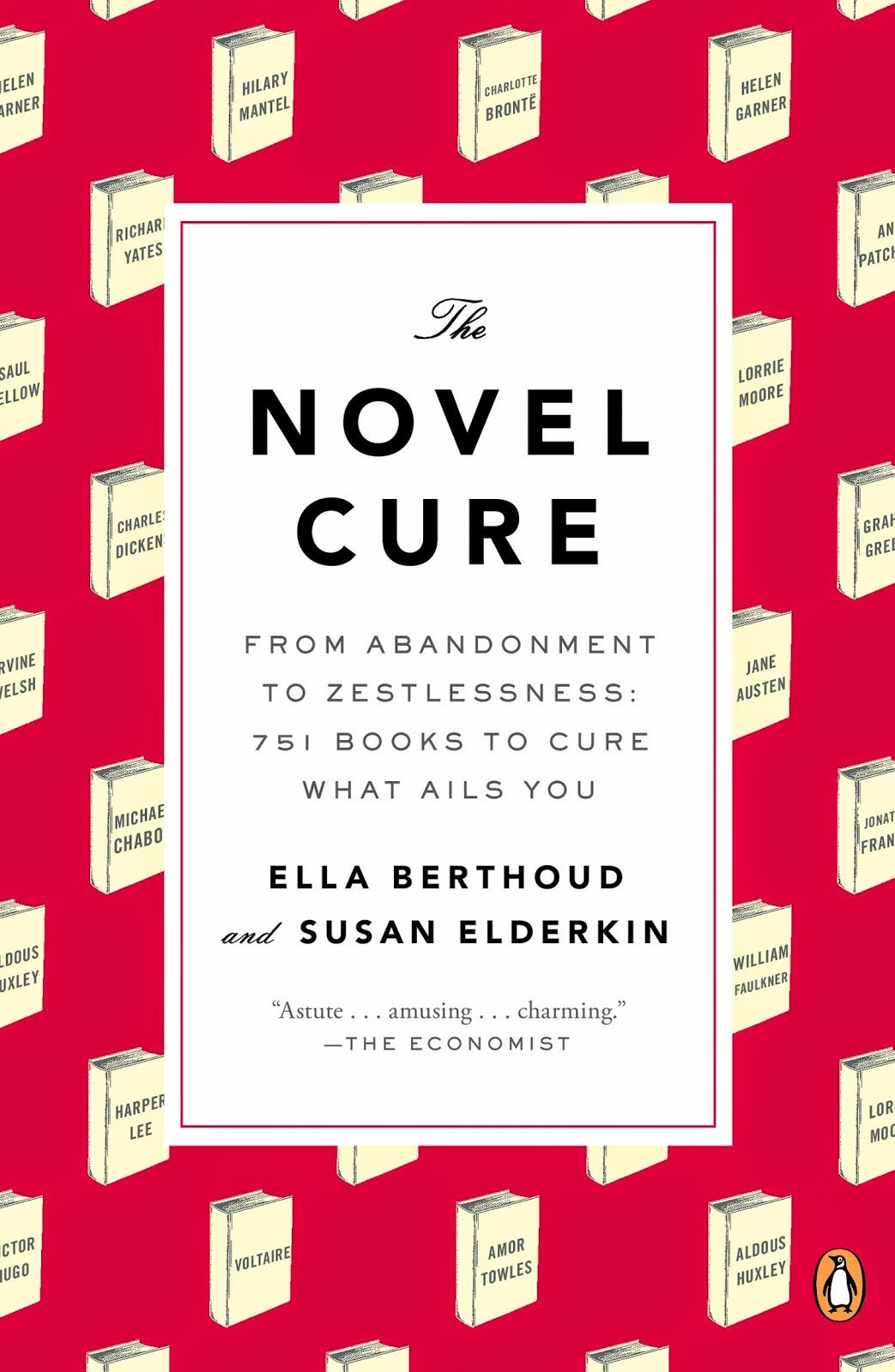 THE NOVEL CURE Giveaway