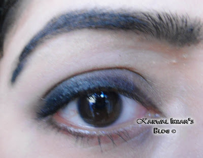 Essence Eyebrow Gel In Brown 01 Applied