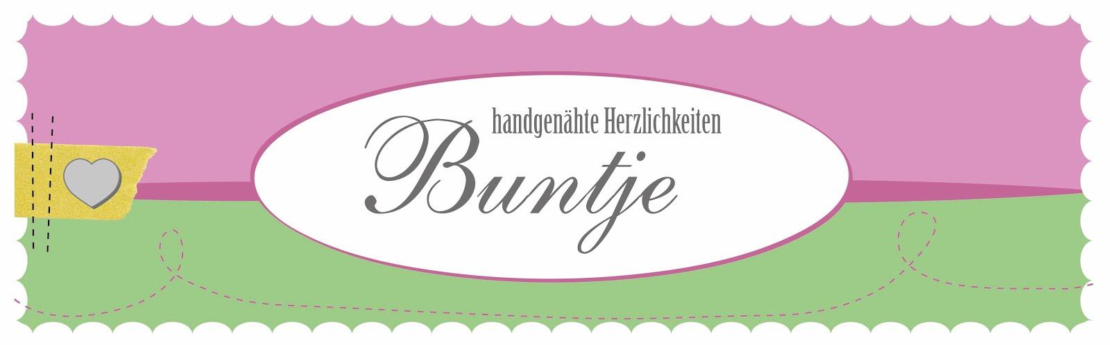 Buntje | handgenähte Herzlichkeiten