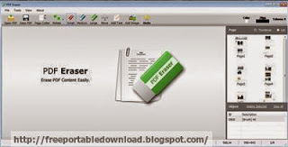 PDF Eraser to erase PDF document unwanted text and images
