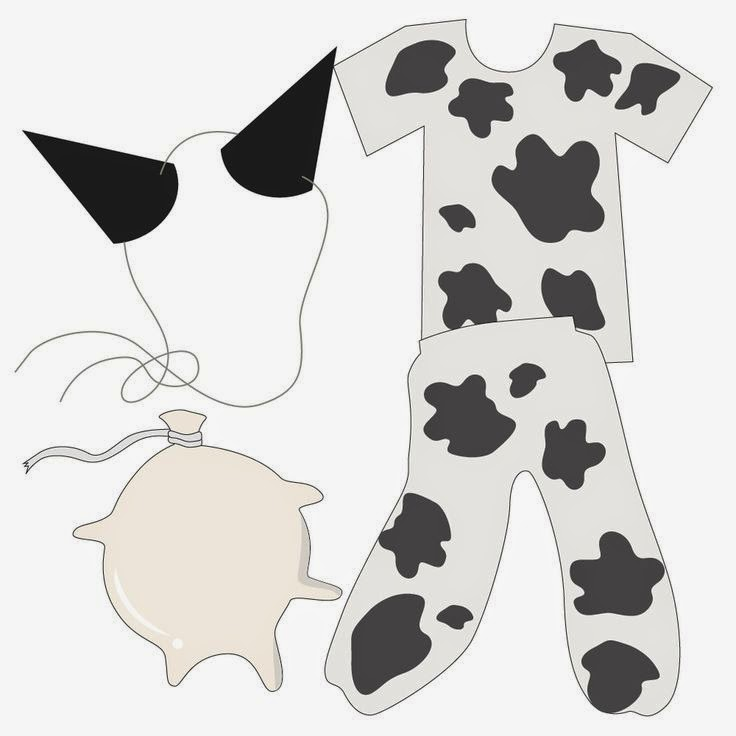 Handy image with regard to cow costume printable