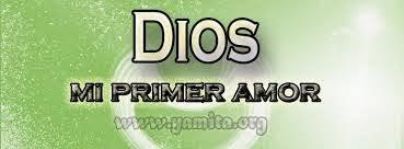 NO ABANDONES TU PRIMER AMOR POR DIOS