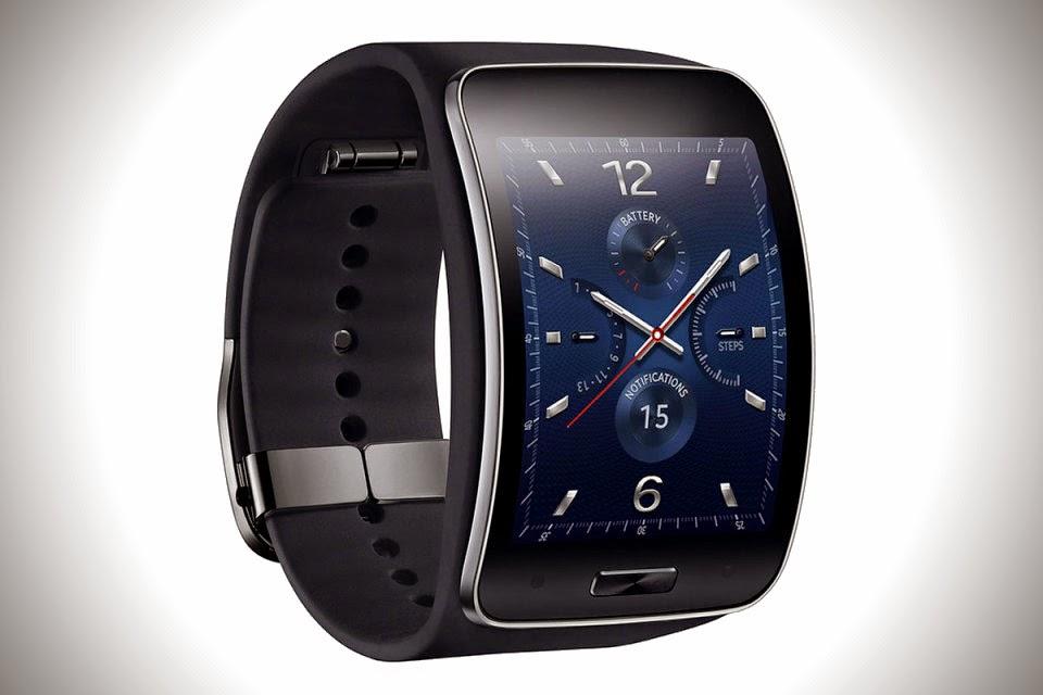 Samsung Curved Gear S Smartwatch