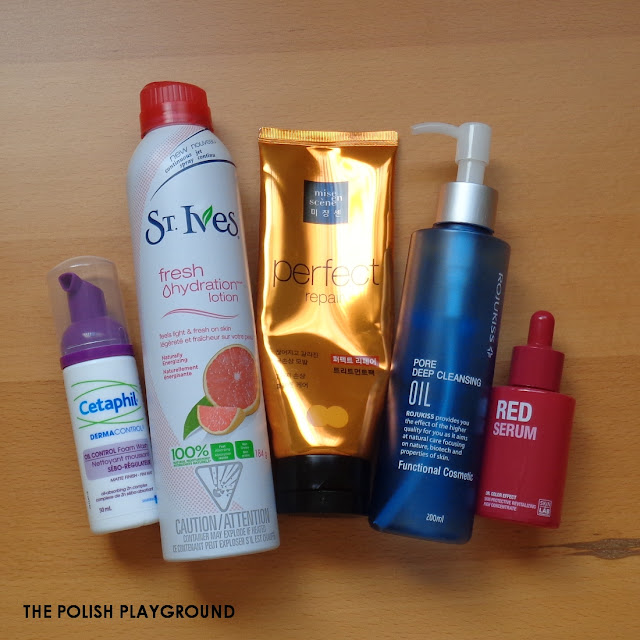 May 2015 Product Empties