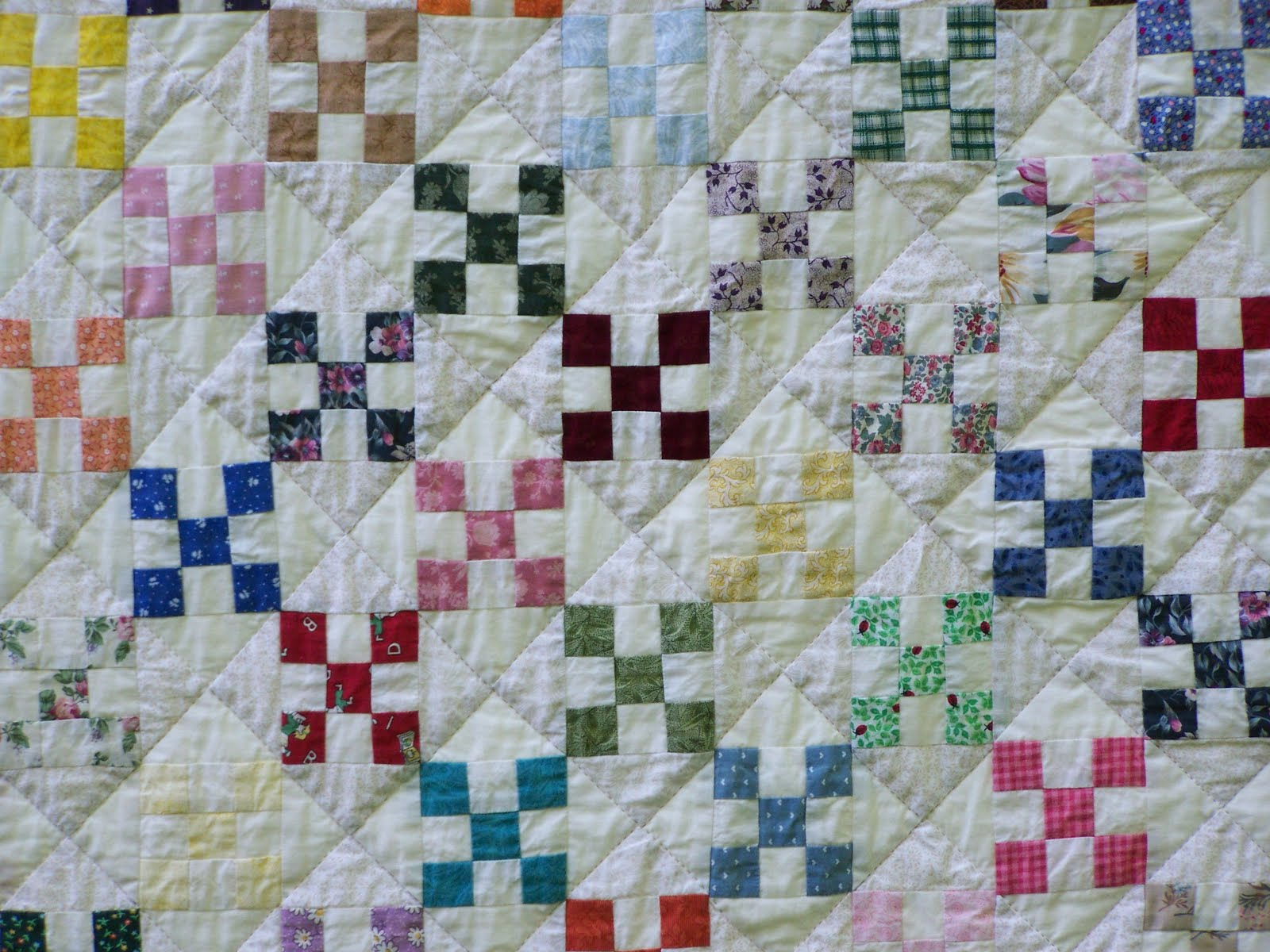 When Life Gives You Scraps, Make Quilts!: Nine-Patch & Hourglass : 9 patch quilts - Adamdwight.com
