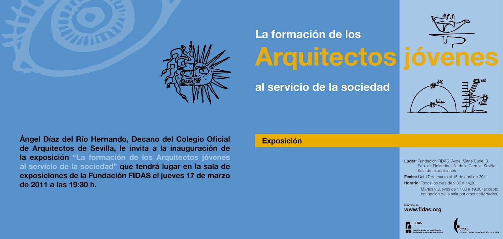 Portfolio la formaci n de los arquitectos j venes al servicio de la sociedad - Sociedad de arquitectos ...