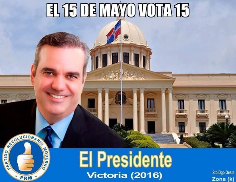 Luis Abinader El Presidente