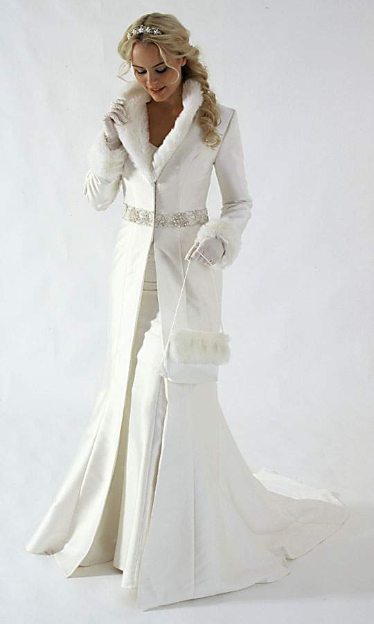 Gorgeous Wedding Dress Gorgeous Winter Wedding Dress