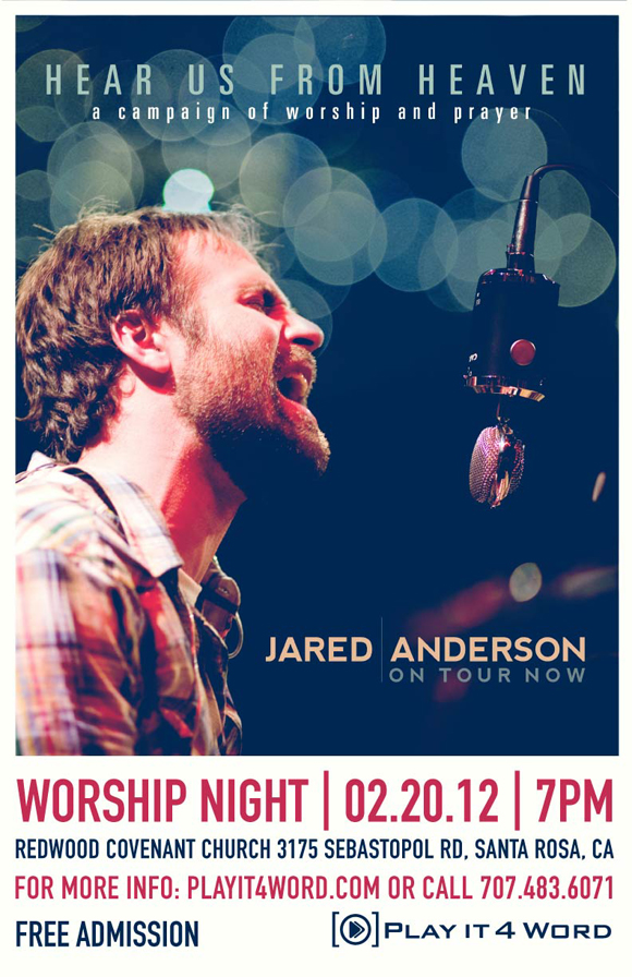 Jared Anderson Night of Worship and Prayer at RCC
