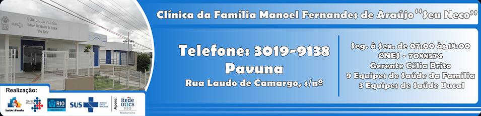 Clínica da Família Manoel Fernandes de Araújo (Seu Neco)