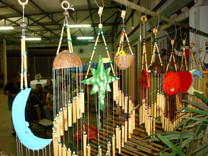 Artesanato Com Cd Velho ~ Artesanatos Beija Flor Bambú e Arte