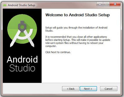 Cara instal Android SDK di aplikasi Android Studio pada Windows