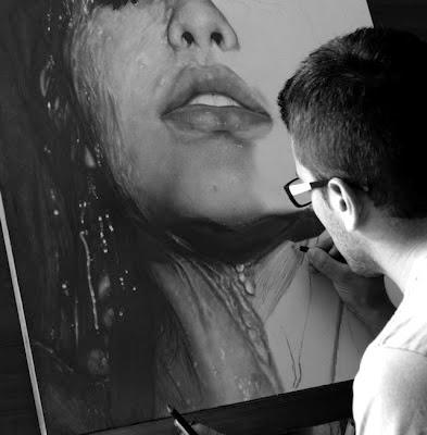 δημιουργίες-ζωγραφική-Diego Fazo-Diego Koi-painting-ζωγραφική με μολύβι-λόγια απλά