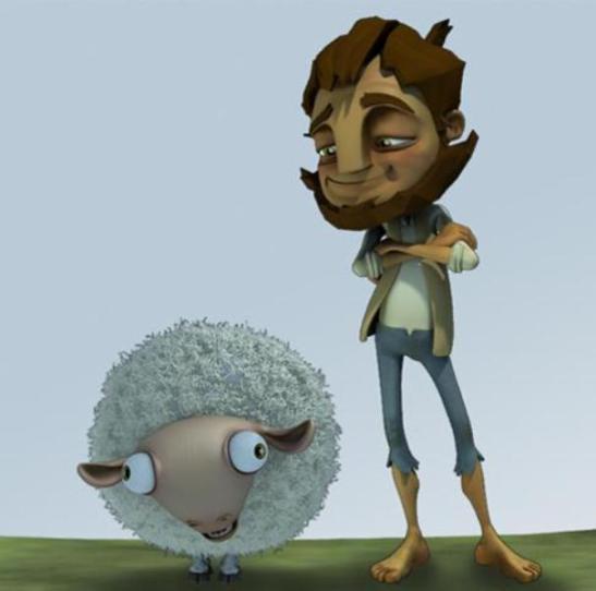 LA MEJOR ANIMACIÓN: Holy Sheep de Justin Farris