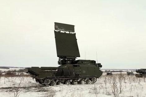 Radar trinh sát mục tiêu 9S18M1E - www.tinquansu.net