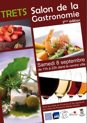 Le blog du pays d 39 aix salon de la gastronomie trets for Le salon de la gastronomie