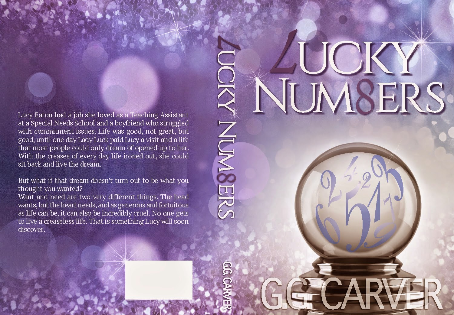 Cover Reveal: Lucky Numbers by G.G. Carver