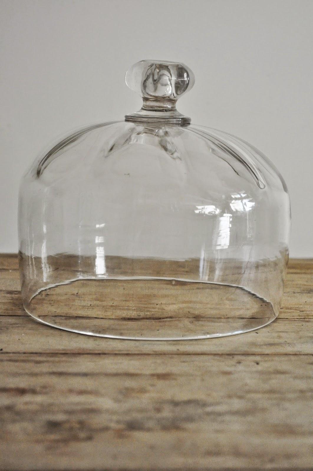 La m re d 39 une parisienne vide son grenier cloche fromage - Cloche en verre hauteur 40 cm ...