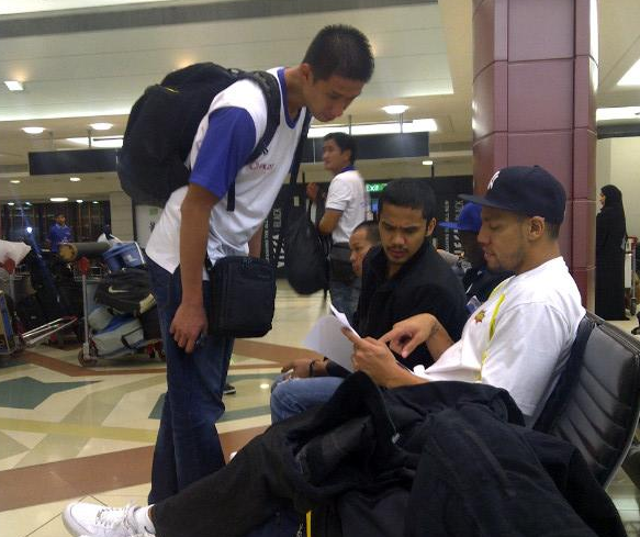 Organizer of Dubai PBA Games f'd up, lets Talk n Text Team Stranded at the Airport