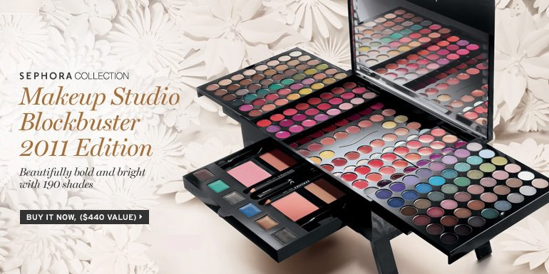 Sephora Collection Makeup Studio Blockbuster 2011 Edition