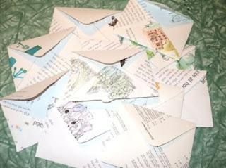 Ideas para Reciclar Sobres de Papel