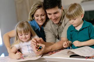 Belajar bersama anak