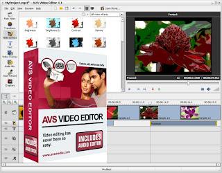 AVS Video Editor Interface