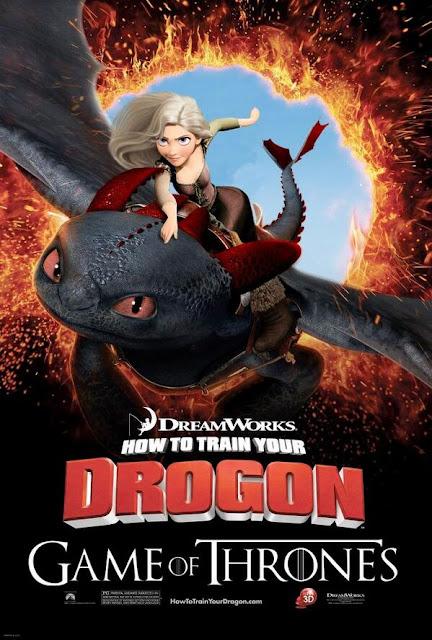 Daenerys como entrenar a tu drogon - Juego de Tronos en los siete reinos