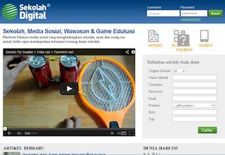 Sekolah Digital, Jejaring Sosialnya Anak Sekolah