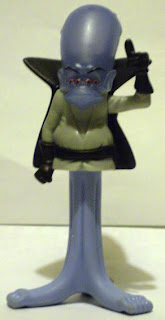 Front of McDonald's Gallaxhar figurine from 2009 Monsters vs. Aliens Happy Meals