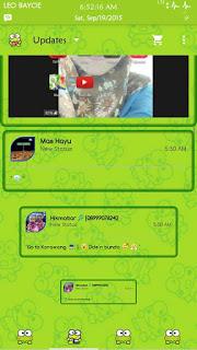 BBM Green Kerropi Versi 2.9.0.51 Apk